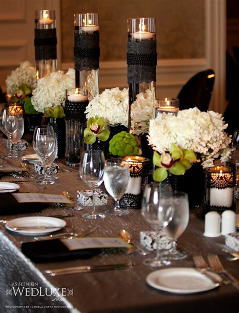 beautiful table settings for picture of spooky but elegant halloween wedding table settings