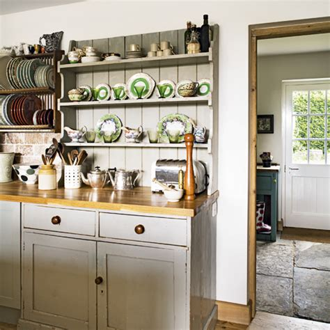 Modern Country Style Country Kitchen Rule Three Open
