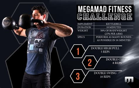 kettlebell circuit double challenge fitness challenges