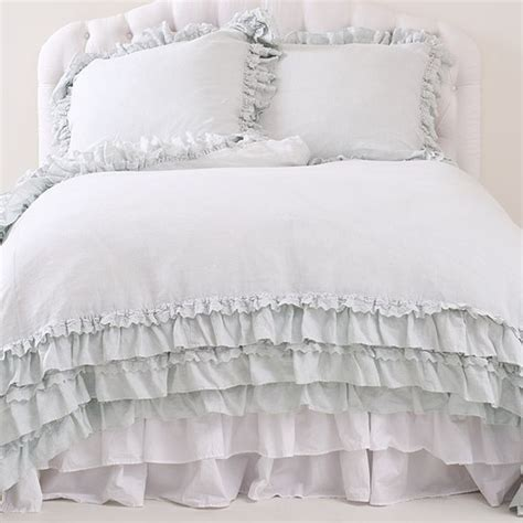 shabby chic bedding teal petticoat teal collection from shabby chic couture love countryliving dreambedroom my