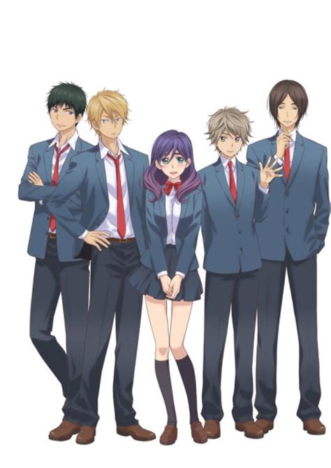 Anime Kiss Him Not Me Season 2 Watashi Ga Motete Dousunda Kiss Him Not Me Pictures