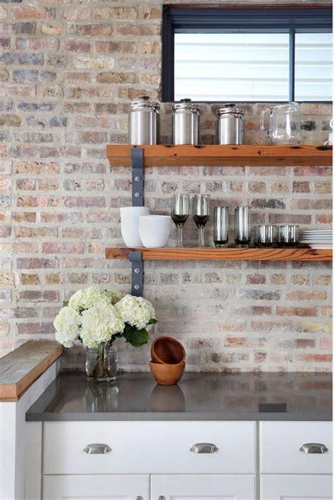 Brick Backsplashes For Kitchens by 30 Practical And Really Stylish Brick Kitchen