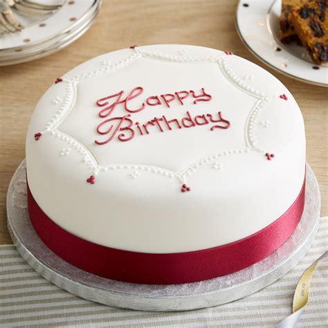 Images Of Birthday Cakes Soft Iced Happy Birthday Cake Bettys