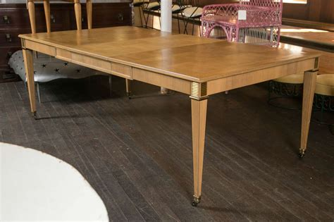 Baker Furniture Dining Table At 1stdibs