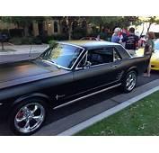 Matte Black 1964 Ford Mustang  The Pinterest