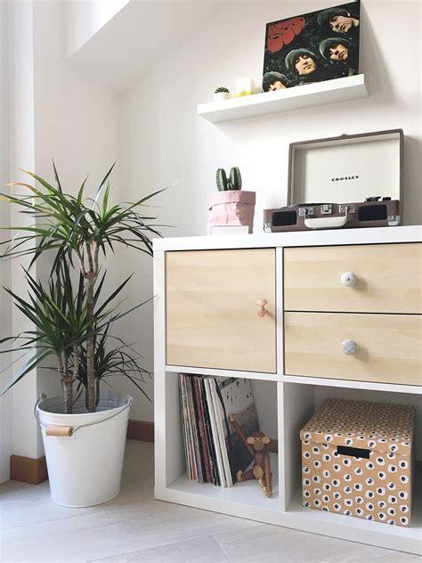 Ikea Kallax Ideen by Diy How I Customized My Ikea Kallax Shelving Unit With