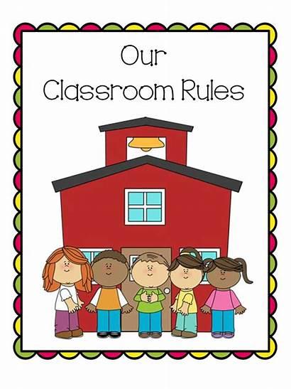 Rules Classroom Border Clipart Clip Kindergarten Posters