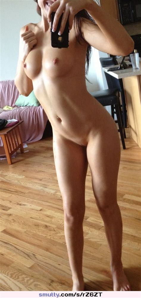 Brunette Hot Sexy Selfie Selfshot Boobs Body Naked