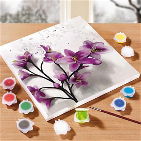 peinture sur toile pour debutant peindre d apr 232 s les chiffres lidl archive des
