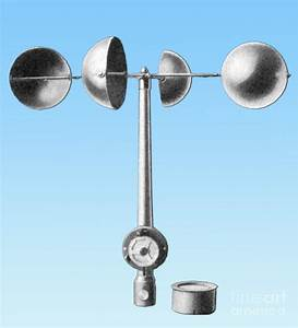 An Anemometer Photograph By Science Source