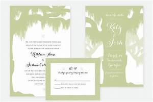 spanish moss wedding invitation by loobirdpress on etsy With spanish moss wedding invitations