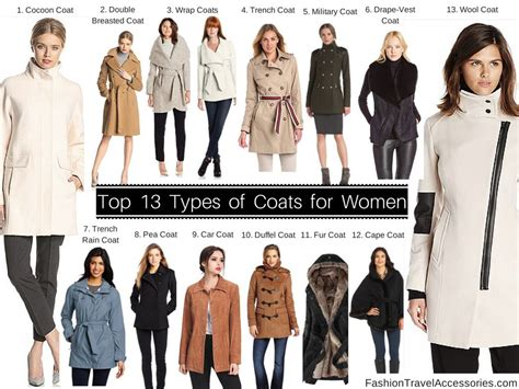 Top 13 Types Of Coats Tips, Reviews & Guides For Women To