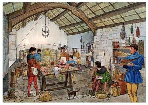 cuisine moyen age cuisine médiévale histoire de repas de menus au moyen âge