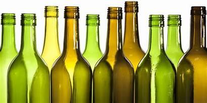 Wine Empty Bottles Bottle Recycling Poems Creative