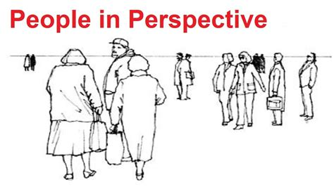 perspective art lesson   draw people  perspective