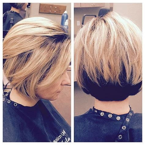 stacked bob hairstyles youll   copy  styles