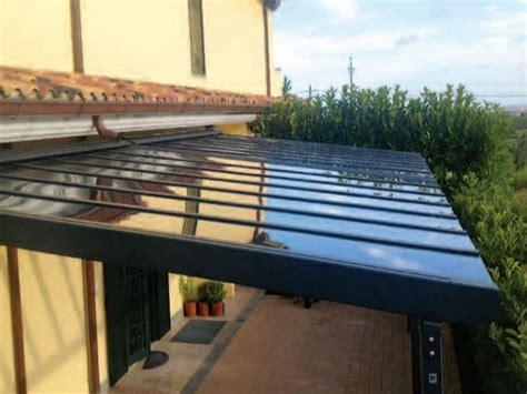 tettoia in policarbonato trasparente 187 tettoie policarbonato prezzi