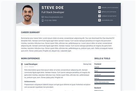top   software developer resumecv templates html