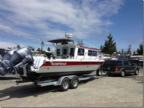 Kingfisher Boats Calgary by 2014 Kingfisher 2725 Weekender Loaded Parksville