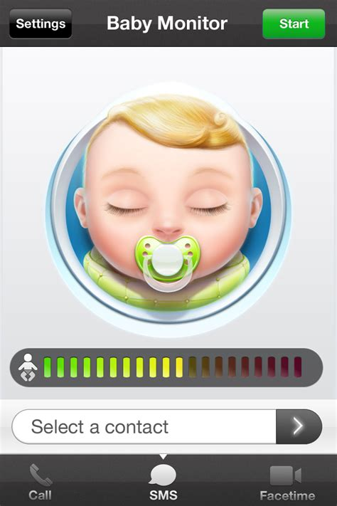baby monitor app iphone baby monitor for iphone by codegoo