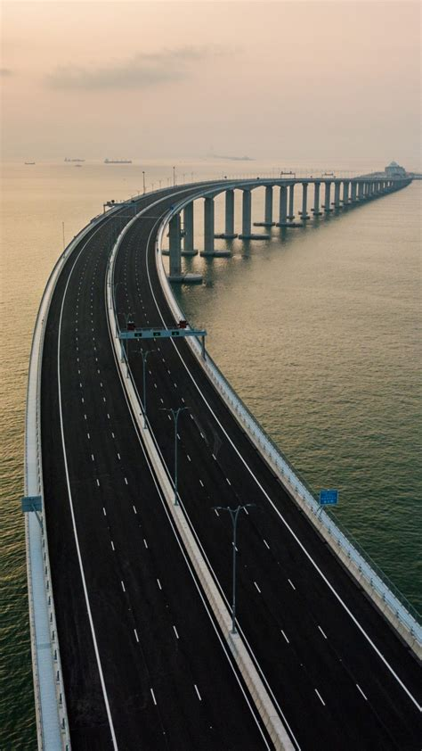 Wallpaper Hong Kong-Zhuhai-Macau Bridge, China, 4K, Travel ...