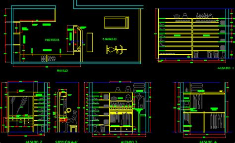 dressing room  gym  dwg detail  autocad designs cad