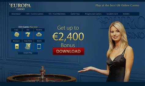Europa Casino Review For 2018  Exclusive Au$2,400 Bonus