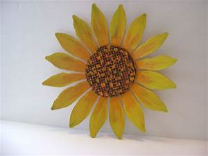 unavailable listing on etsy With sunflower wall decor