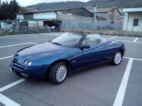 Yellow 2000 Alfa Romeo Gtv Spider