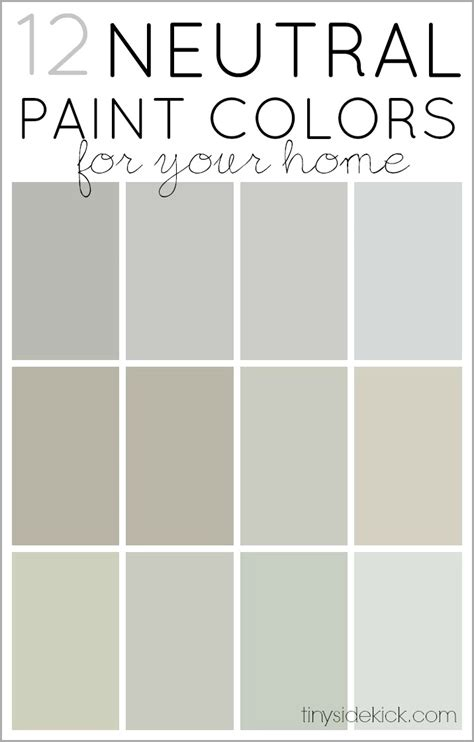 how to choose neutral paint colors 12 neutrals