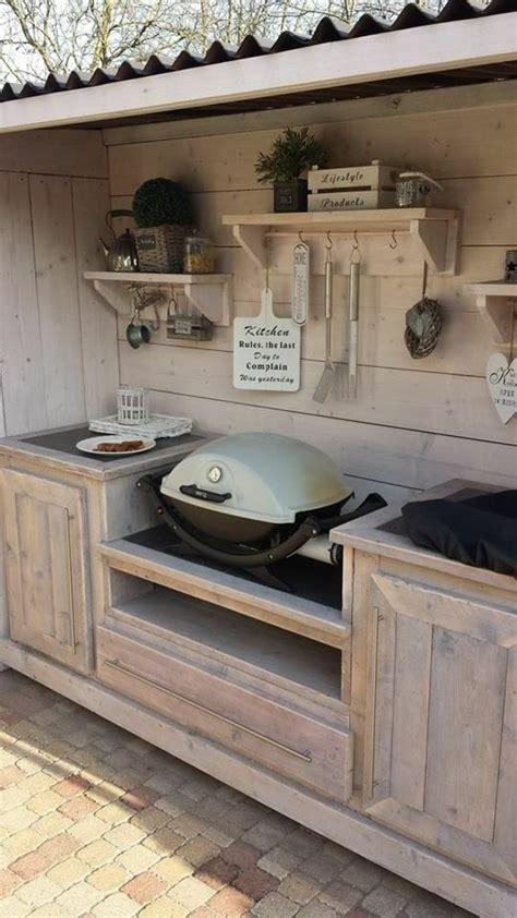 cuisine d 1001 idées d 39 aménagement d 39 une cuisine d 39 été extérieure chetre en bois et extérieur