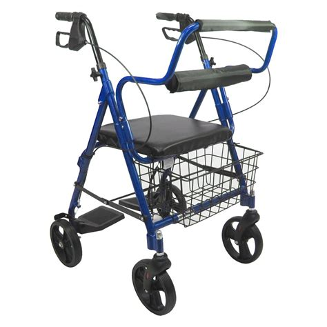 rollator transport chair karman healthcare r 4602 t b 2 in 1 rollator transport