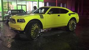 Ls On 28s  Charger On 32s  73 Vert On 26s Forgies