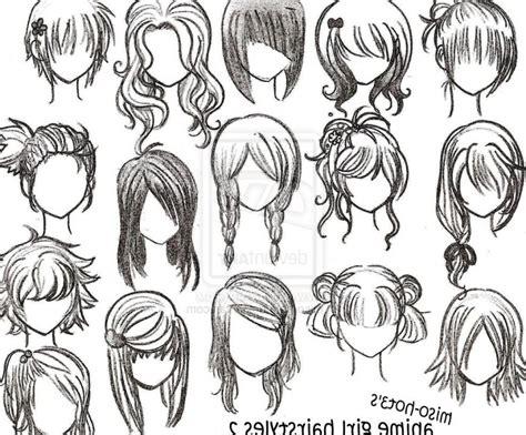 Girl Hair Drawing Draw Anime Hair Girl Drawing Anime Girl Hair Anime Girl