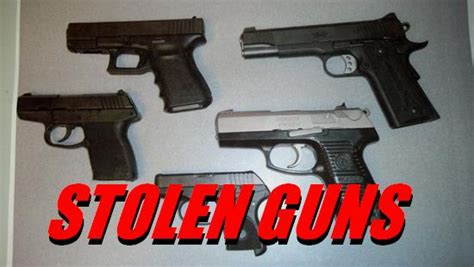 stolen guns turning  kwhicom