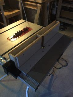 Router Insert In Bosch Table Saw  Tabel Saw Station