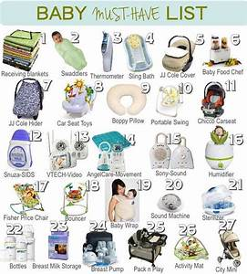 A List of Baby Must Haves! Great guide on what to get ...