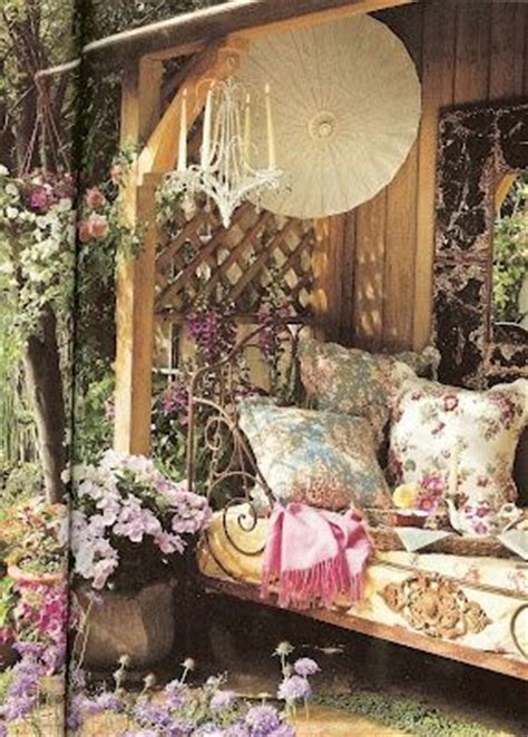shabby chic garden designs  interior furniture
