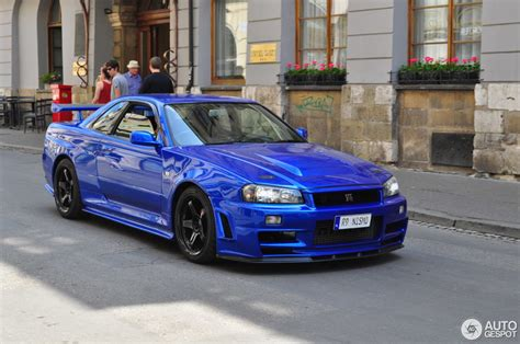 Nissan Skyline R34 Gt R V Spec Ii Nr 28 May 2018