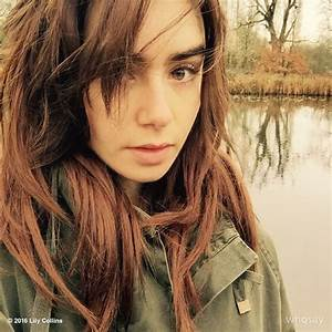 Lily Collins Wears Cool Winter Style in Vogue Russia