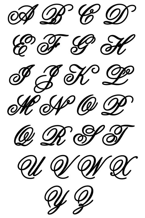 different letter styles alphabet letters in different styles letters exle 54400