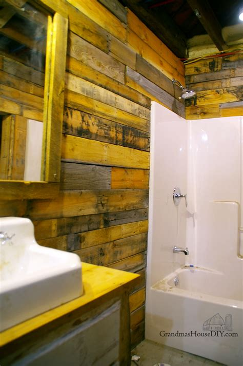 how to build a basement bathroom from scratch