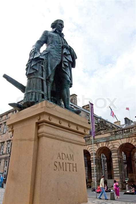 statue   scottish philosopher adam smith