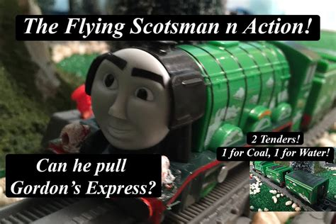 Thomas And Friends The Great Race Flying Scotsman Pulls