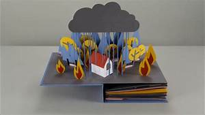 stop motion pop up book a drop of water makiminimag With revolution the lifecycle of water told in a stop motion pop up book