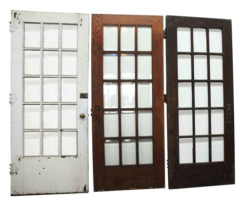 beveled glass panel french door olde good