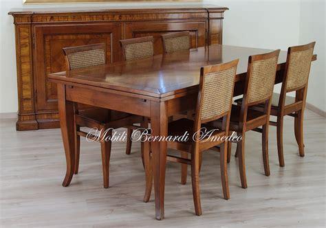 sedie stile classico tavoli in noce allungabili 5 tavoli
