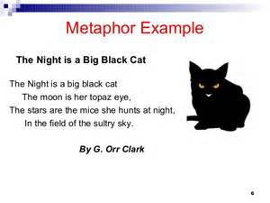 Simile and Metaphor Poem Examples