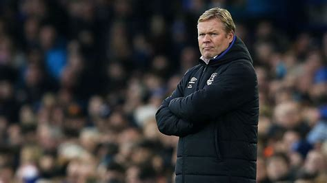 evertons ronald koeman english clubs  trust young