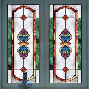 European Church Art Glass Film Stained Window Opaque